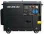 Дизельный электрогенератор HYUNDAI DHY4000SE-3