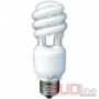 Энергосберегающая лампа DeLux E14 Slim Semi-spiral 15Вт