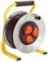 Барабанный удлинитель Schwabe 40м кабель Н05RR-F 3G1,5 с 3 встро