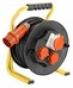 Барабанный удлинитель Schwabe 20м кабель H05VV-F 5G1,5 D230мм
