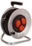 Барабанный удлинитель Schwabe 25м кабель H05VV-F 3G1,5 D230мм 1