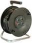 Барабанный удлинитель Schwabe 25м кабель Н05VV-F 3G1,5 2 выхода