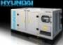 генератор дизельный в кожухе hyundai DHY125KSE трехфазный